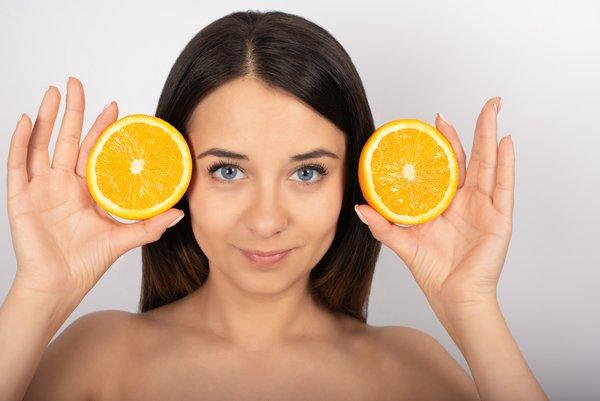 vitamin c cho da mặt