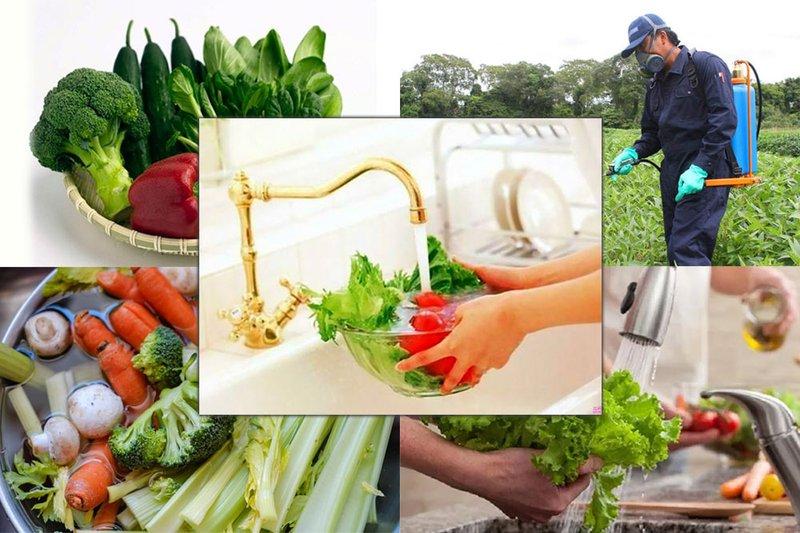 Bà bầu ăn phải rau chứa thuốc trừ sâu có ảnh hưởng gì?