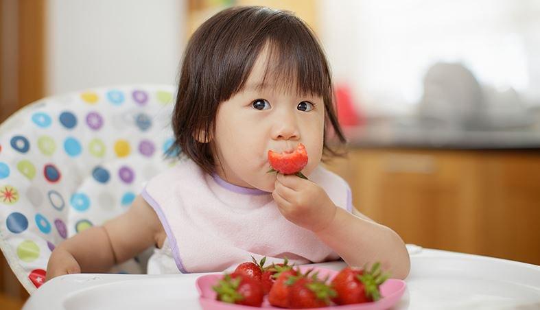Nên cho bé ăn trái cây thay vì uống nước ép trái cây