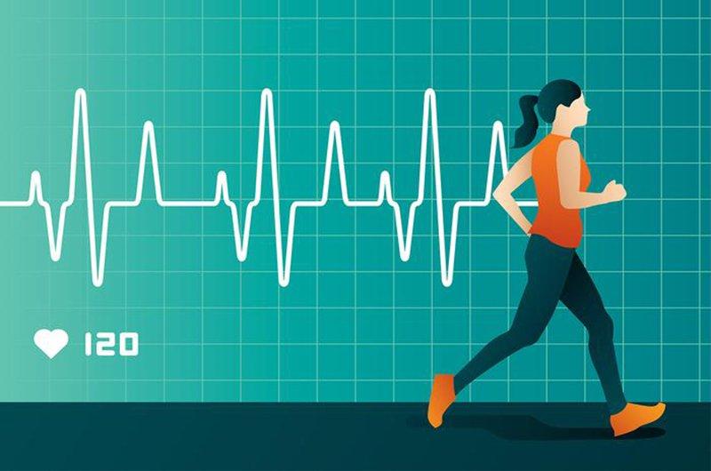 nhịp tim khi chạy