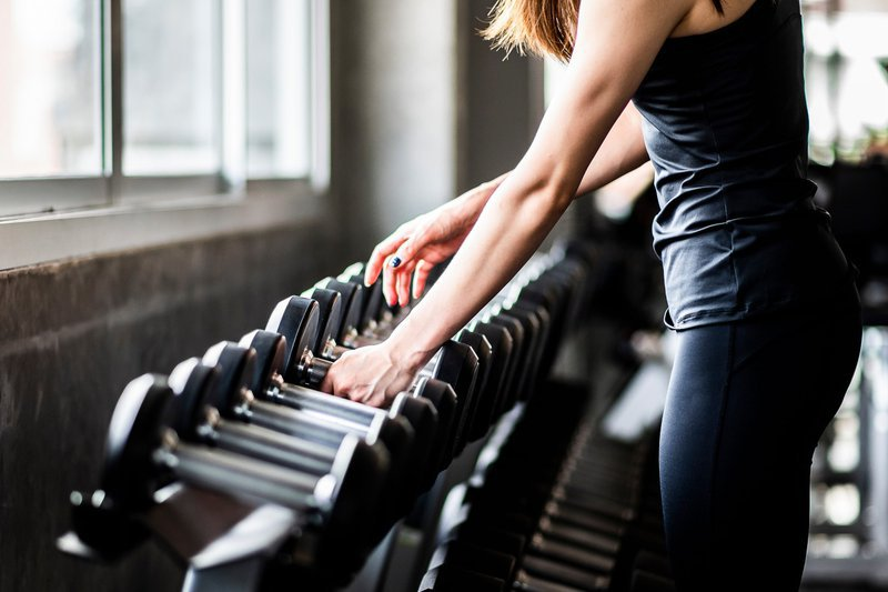 Tập gym không lên cơ