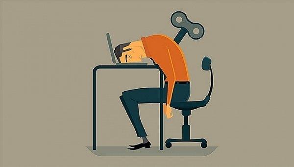 Kiệt sức vì làm việc
