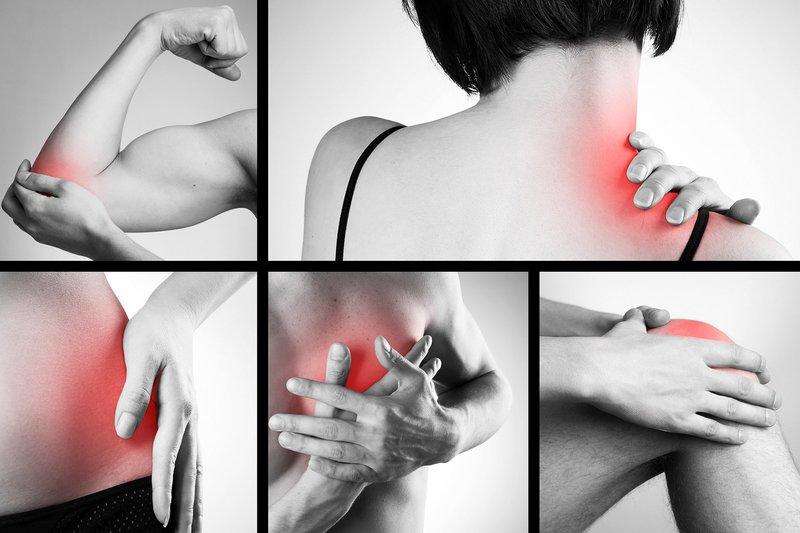 các cơn đau phổ biến