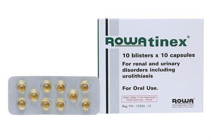 Có thể dùng thuốc rowatinex trị sỏi thận được không?