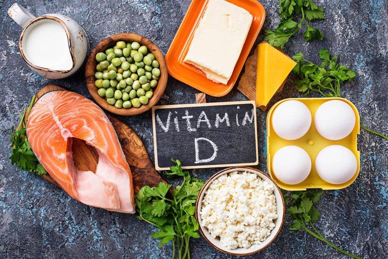 thực phẩm giàu vitamin d cho trẻ