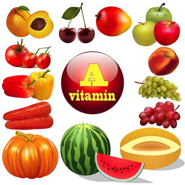 Các trái cây nhiều vitamin A