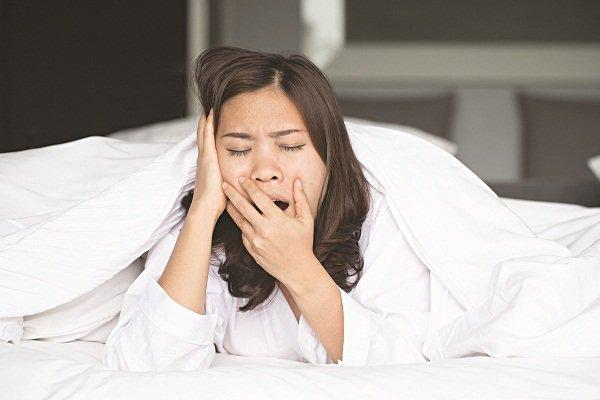 Ngủ muộn quá có thể làm giảm quá trình trao đổi chất