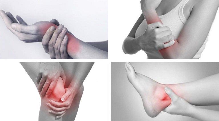 Các khớp cổ, vai, chân tay có hiện tượng kêu cục là bệnh gì?