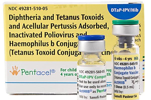 Vắc-xin Pentacel,