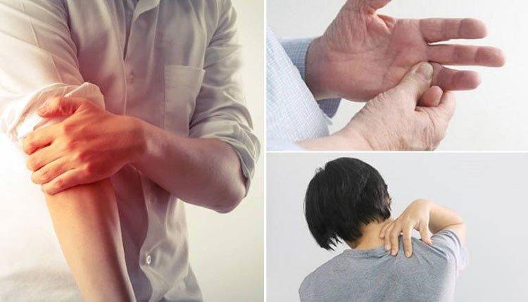 Đau nhức cánh tay lan lên vùng vai là bị làm sao?