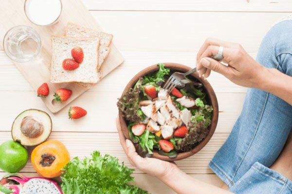 chế độ ăn ít dư lượng