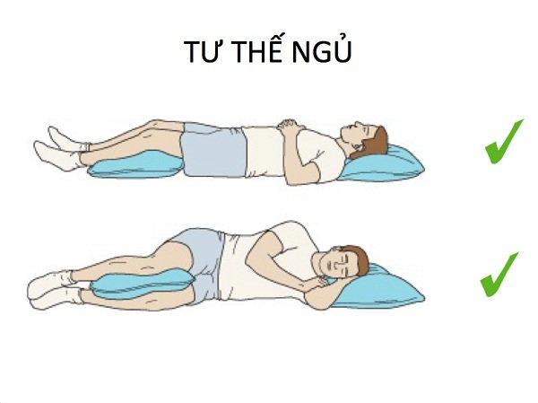 Nên nằm ngủ tư thế nào tốt nhất