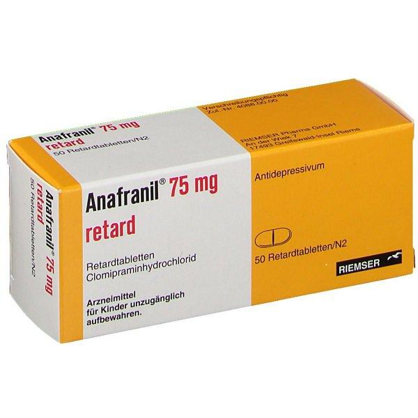 Anafranil là thuốc gì?