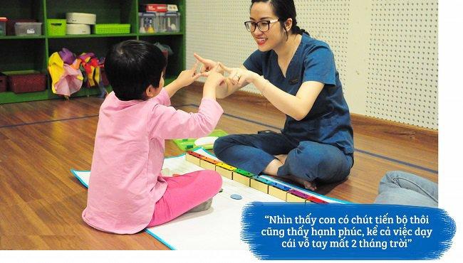cách dạy trẻ tự kỷ
