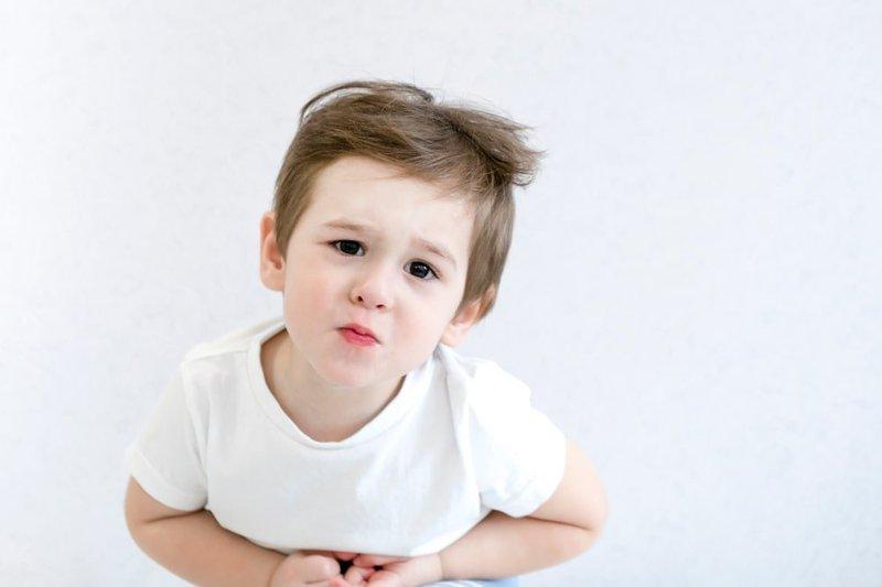 đường ruột yếu ở trẻ em