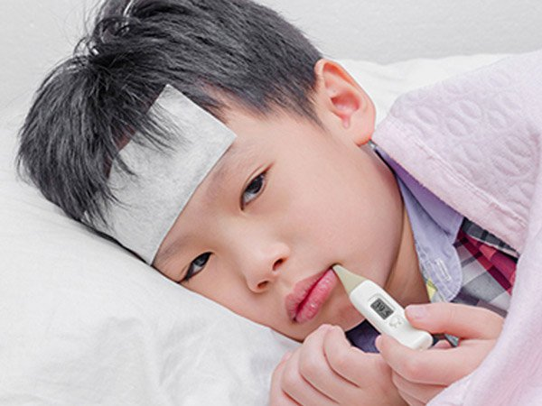 giảm sức đề kháng ở trẻ