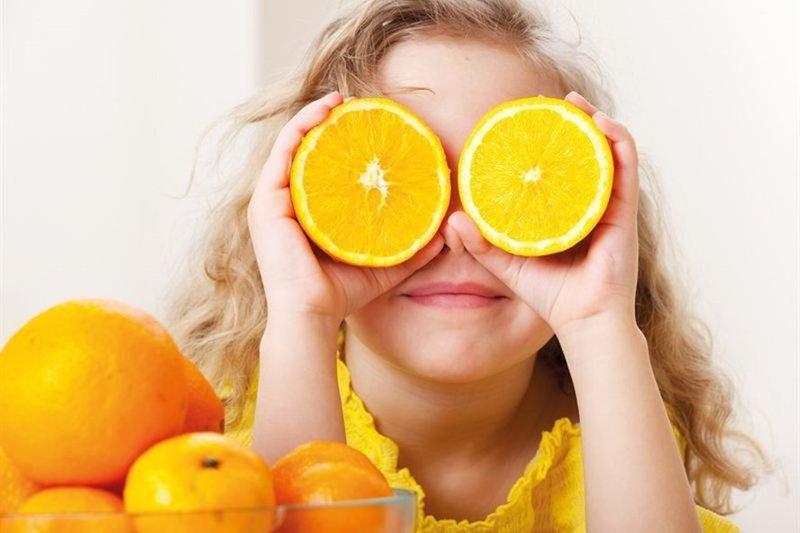trẻ thiếu vitamin c