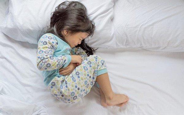 Trẻ bị đau bụng, đầy hơi có nguy hiểm không?