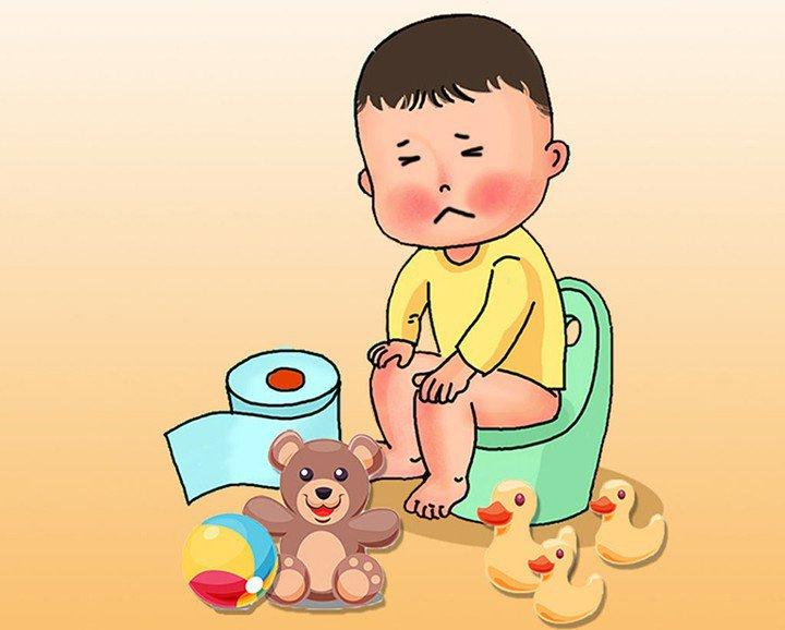 Chế độ dinh dưỡng cho trẻ táo bón