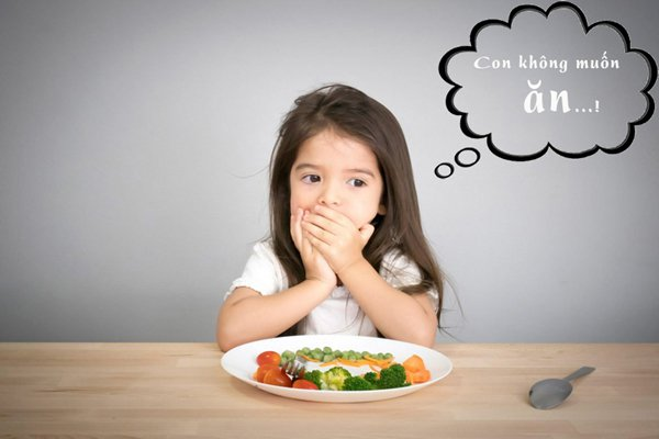 Trẻ đường ruột yếu gây biếng ăn