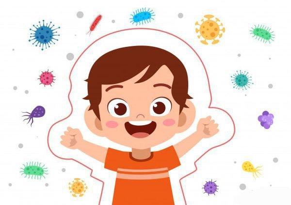 Hệ miễn dịch trẻ nhỏ