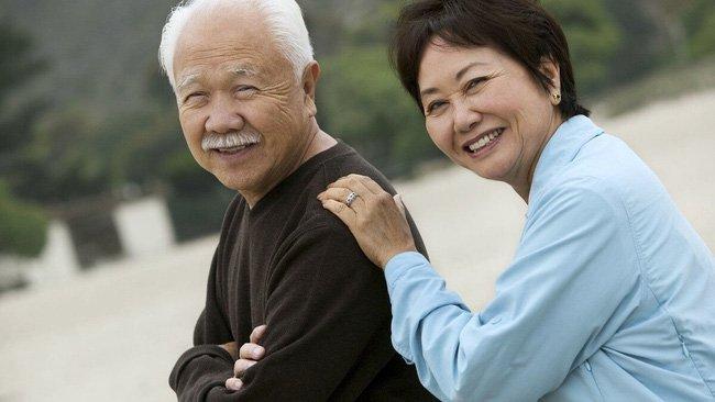 chăm sóc sức khỏe tuổi 60